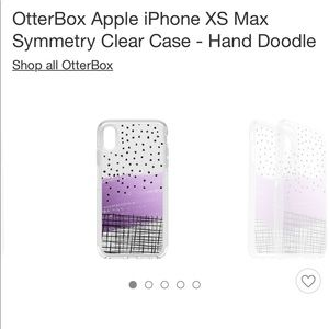 OtterBox Apple iPhone XS Max Symmetry Clear Case